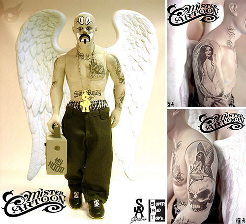 Mister Cartoon Lost Angels Figure Hypebeast
