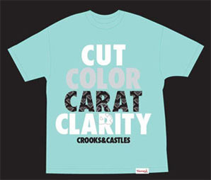 Crooks and Castles x Diamond Tee