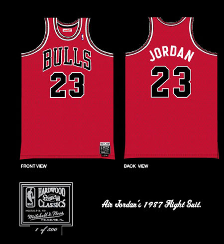 Mitchell and Ness Jordan Jersey