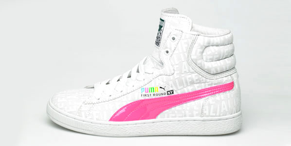 Alife has teamed up with Puma to create a pack of First Round High Tops.