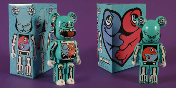 Ron English x Bearbrick