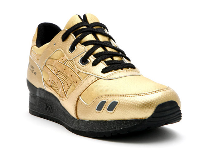 david z x asics gel lyte iii solid gold stainless steel collection