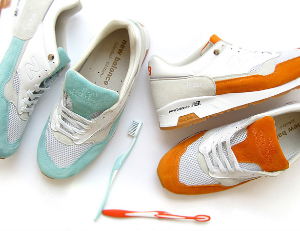 hypebeast x solebox new balance 1500 toothpaste 2 pack