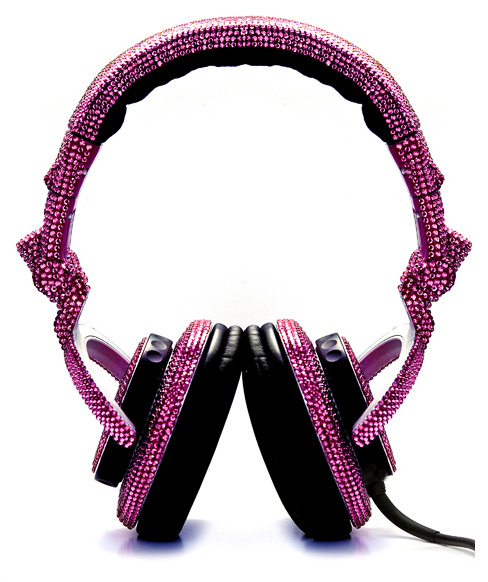 swarovski fashion rocks dj headphones 2 Swarovski Fashion Rocks   DJ Headphones