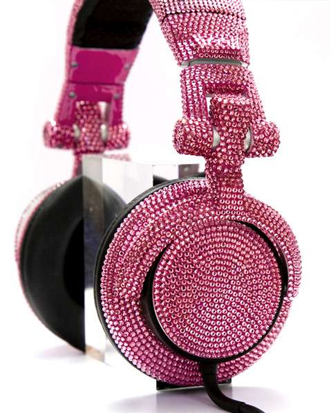 swarovski fashion rocks dj headphones 3 Swarovski Fashion Rocks   DJ Headphones