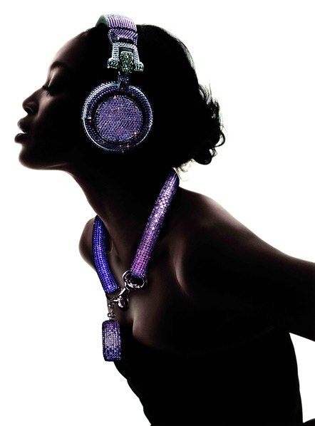 swarovski fashion rocks dj headphones 4 Swarovski Fashion Rocks   DJ Headphones