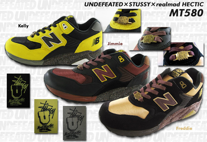 Full Metal Jacket and The Hardway with Stussy Madhectic. Like New Balance  Stussy x UNDFTD x realMad Hectic New Balance MT580 . ... 1c1818a69