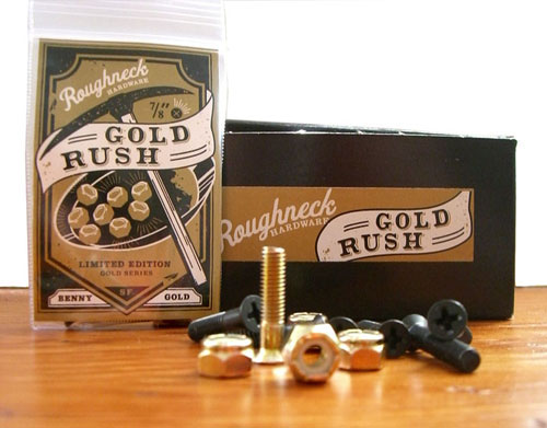 benny gold x roughneck hardware bolts