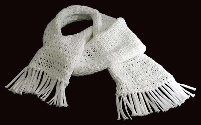 juse shoelace scarves