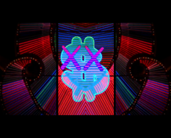 kaws featured edison chens new music video