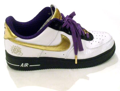 mackdaddy 10th anniversary friends family air force 1