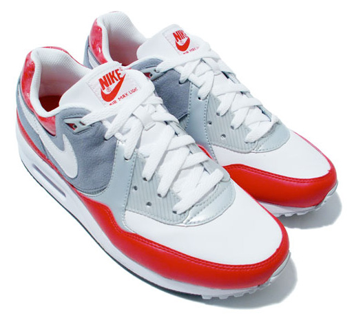 air max red white
