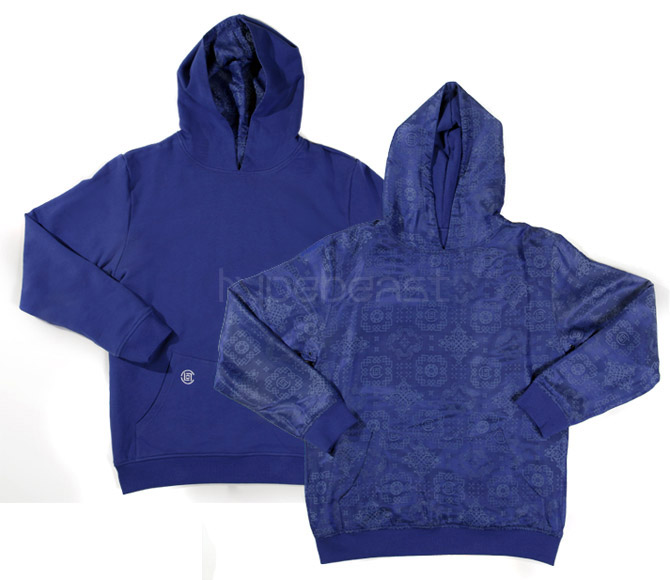 clot royale reversible pullover hoodie