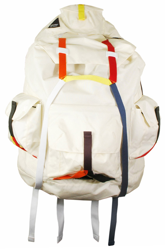 raf simons 08 ss material world collection eastpak