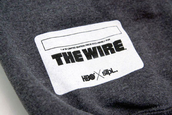 staple x hbo wire sweatshirts