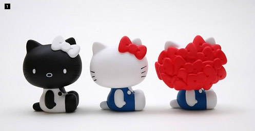 undercover x sanrio hello kitty medicom toy