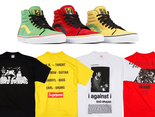 bad brains x supreme collection