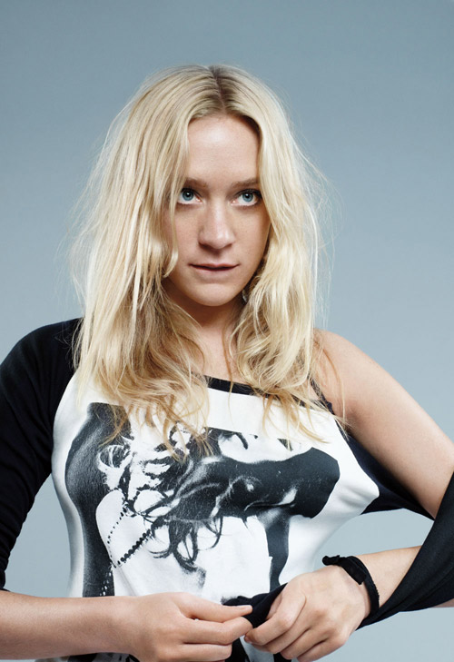 Chloe Sevigny in the new UNIQLO Campain