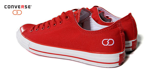 Fragment Design x (Converse) Red Chuck Taylor All Star Low
