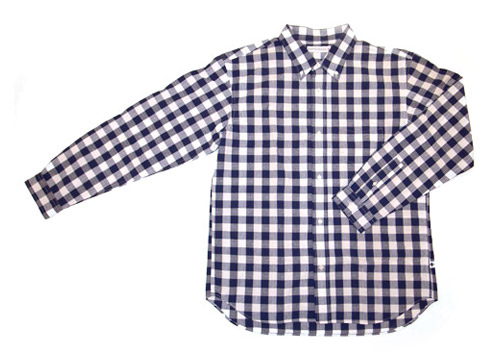 head porter plus western gingham shirt