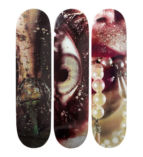 Marilyn Minter x Supreme Skate Decks