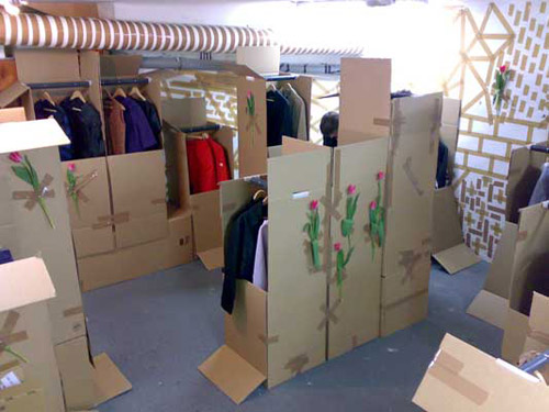 Wood Wood Temporary Space at the Comme des Garcons Guerilla Store