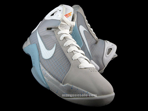 nike hyperdunk mcfly colorway