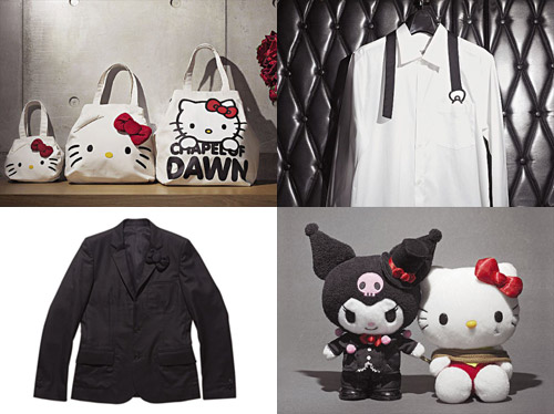 colette x silly thing x chapel of dawn x hello kitty black wonder