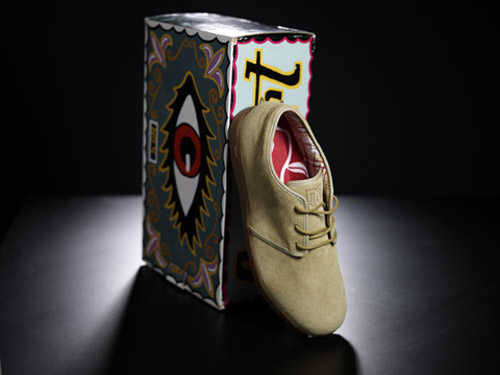 aaron rose dc artist project shoe series