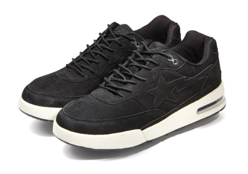 95888b608c8e ... Bape Roadsta - BlackWhite - 3 Better pics of the Suede Pack+88 Low High  White Leather Archive - Bathing Ape ...