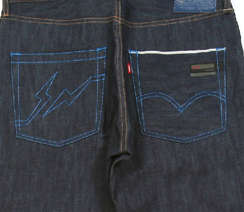 Jeans Zipper Pocket