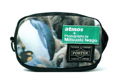 mitsuaki iwago x atmos x porter collection