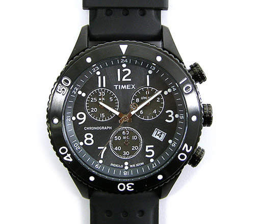 timex 2008 black collection