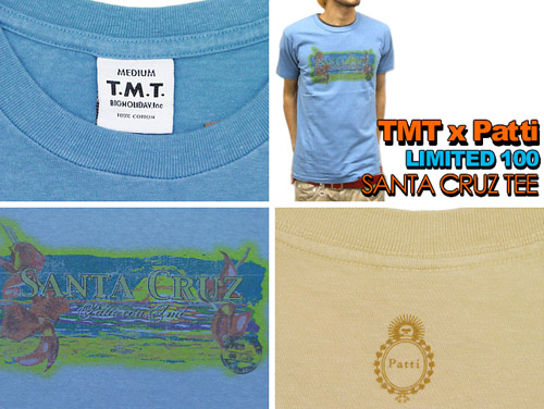 tmt x patti tee collection