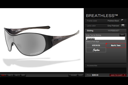 Create Your Own Oakleys