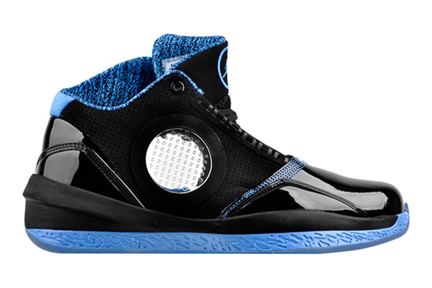 air jordans black and blue