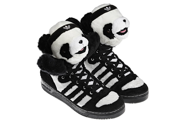Jeremy Scott Panda Bear Adidas