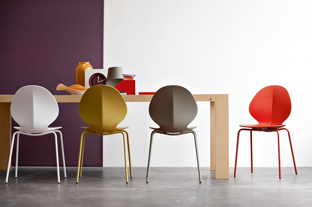 basil chair by mr smith studio for calligaris