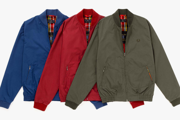 fred perry laurel wreath ventile bomber jacket
