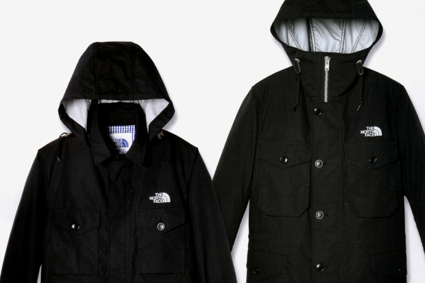 junya watanabe eye comme des garcons x the north face gore tex mountain parkas