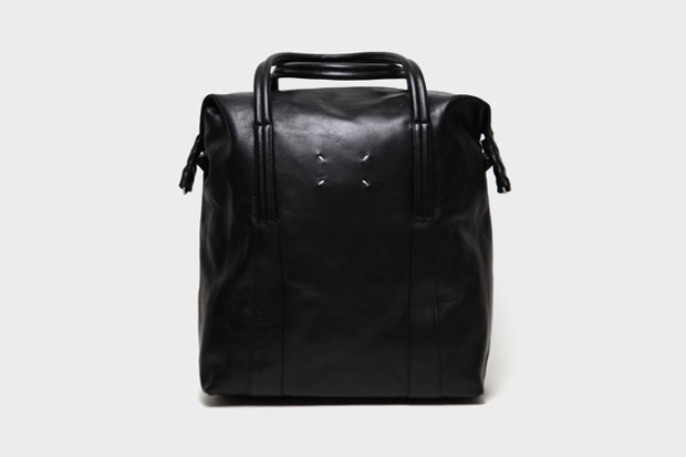maison martin margiela 2011 pre fall collection leather tote bag