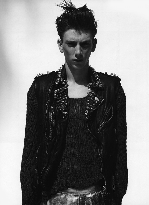 man about town los angeles issue curated by hedi slimane further look