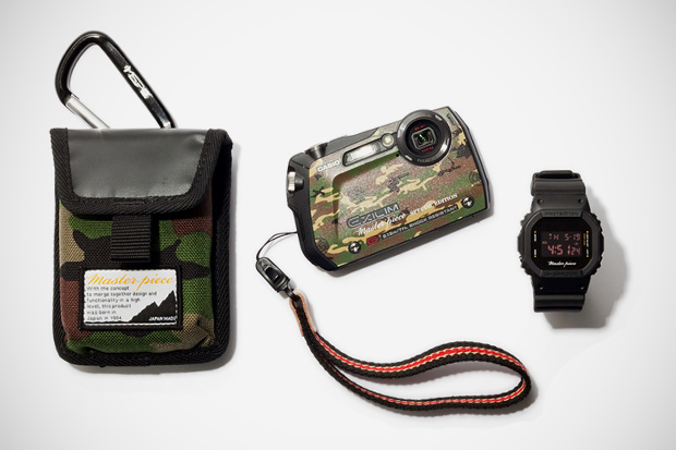 master piece x casio exilim g camera g shock watch