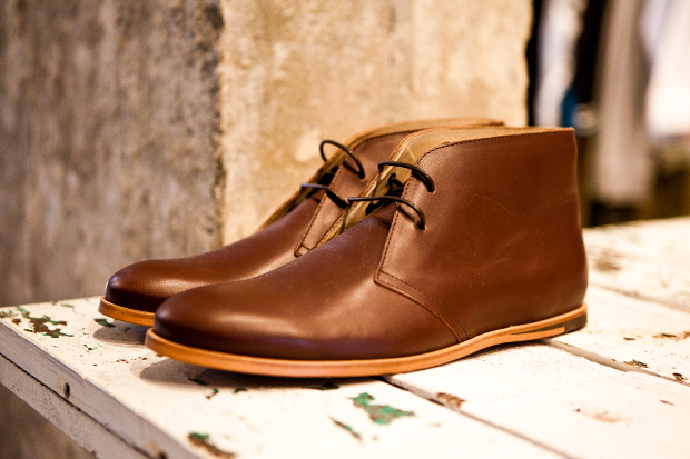 opening ceremony m1 leather chukka