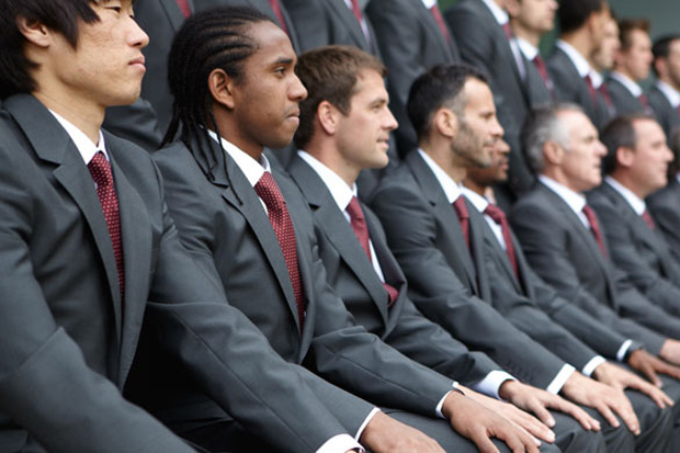 paul smith for manchester united champions league suit