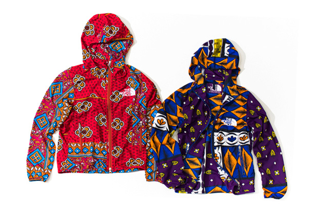 the north face purple label africa mountain wind parka
