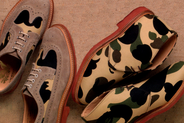 a bathing ape x mark mcnairy capsule collection preview