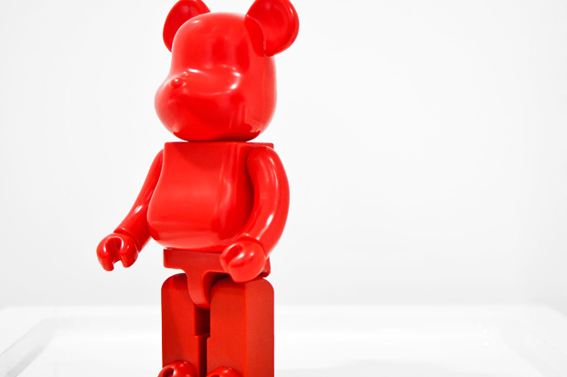 comme des garcons jingle flowers bearbrick