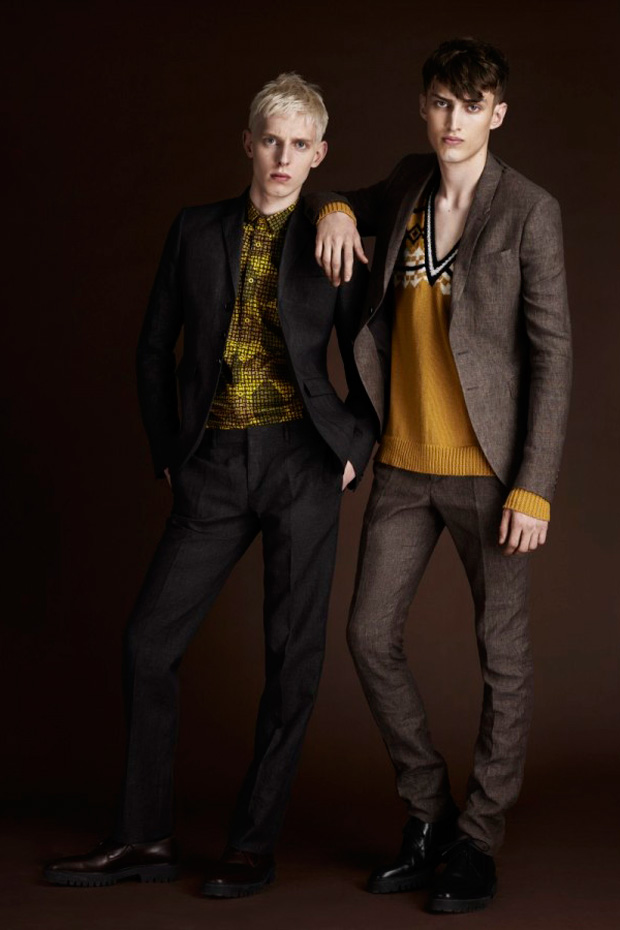 burberry prorsum pre spring 2012 collection