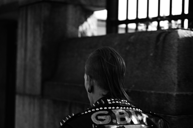 hedi slimane fashion diary update punk